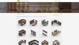 La bibliothèque des objets BIM pour la conception d'une cuisine le logiciel de ACCA software pour la conception architectural