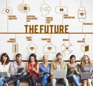 l'intelligence artificielle - image qui représente des personnes qui utilisent différents dispositifs