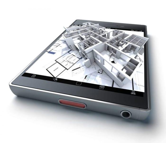 La réalité augmentée à travers le smartphone ou un tablette