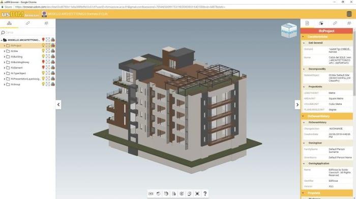 Vous pouvez télécharger les modèles BIM en format IFC du projet architectural ou des fluides à partir du cloud et concevoir la structure en 3D conformément à ce qui a été établi par d'autres concepteurs