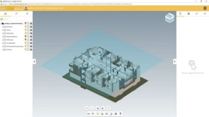 La plateforme collaborative BIM permet aux utilisateurs de reproduire des axes