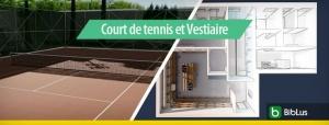 Court de tennis et Vestiaire_software-BIM-architettura-Edificius