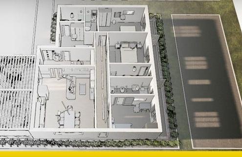 Un guide d'introduction pour la conception de plan de maison d'hôte avec des DWG et des modélisations 3D BIM