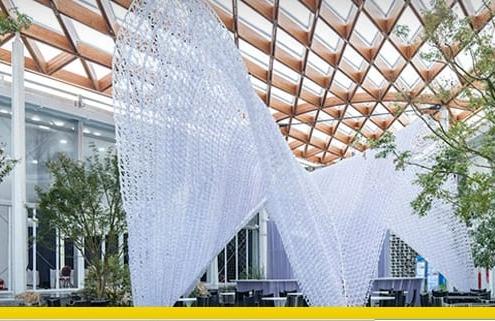 Les technologies dans la construction : voici le premier bâtiment réalisé par des robots