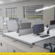 concevoir un bureau - logiciel BIM architecture - Edificius