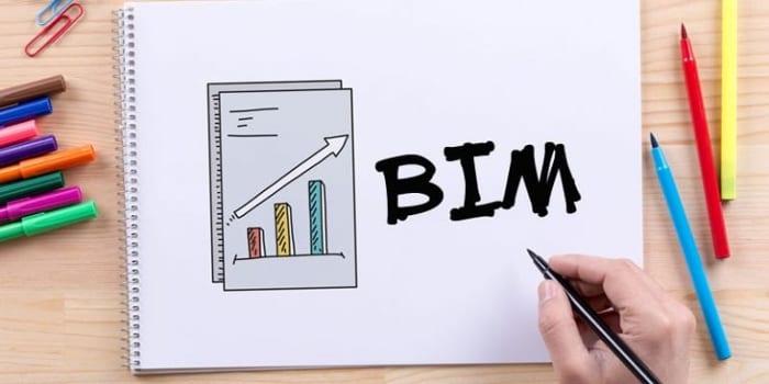 L'image représente un petit livre qui veut etre un guide au BIM en l'occurrence le BIM 5D, realiseé avec Edificius un logiciel de conception architecturale