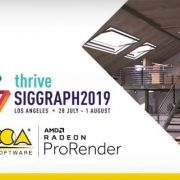ACCA software et AMD au SIGGRAPH 2019