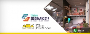 ACCA software et AMD au SIGGRAPH 2019