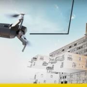 Les drones dans le bâtiment soutiennent le processus BIM