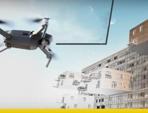Les drones dans le bâtiment apportent de la valeur dans le processus BIM