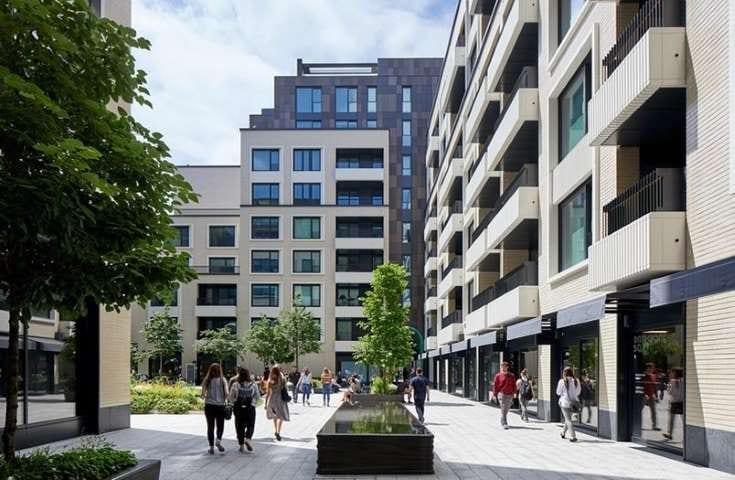Projet BIM, réaménagement Rathbone Square dans le quartier de West End