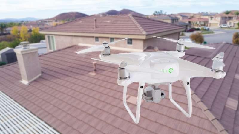 Drones bâtiment pour les inspection , Edificius logiciel de conception architecturale 3D BIM