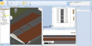 Solarius PV BIM modélisation 3D installation photovoltaïque d'un bâtiment d'élevage