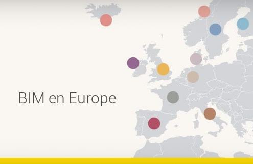 Le BIM en Europe : la diffusion et l'adoption dans chacun des Pays - 1 PARTIE