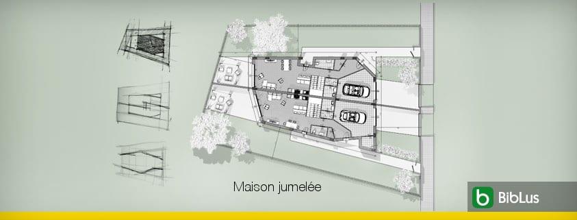Plans Maison Jumelee Definition Architecture Materiaux Exemple Pratique