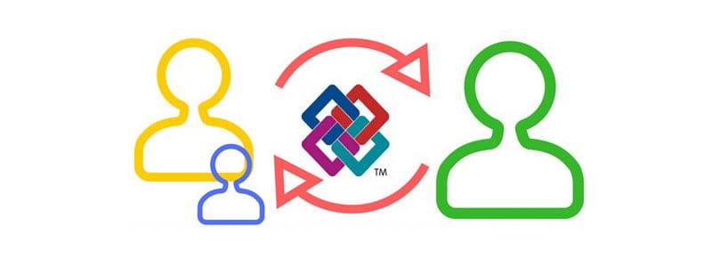 L'image représente l'interopérabilité entre diffèrent document grâce à un format IFC reconnut par buildingSMART international