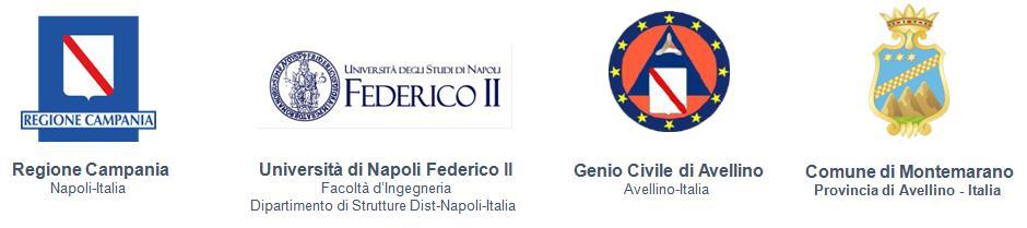 Les intervenants impliqués dans le projet Structural E-Permit sont Regione Campania Naples, Université de Naples Federico II Faculté d'Ingénierie, Génie Civil d'Avellino,Mairie de Montemarano Province d'Avellino.
