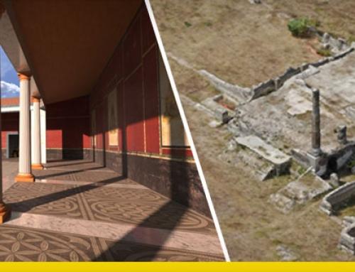 Liternum : la reconstruction numérique d'un site archéologique