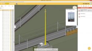 Capture d'écran de usBIM.browser pour la gestion de la modélisation en ligne
