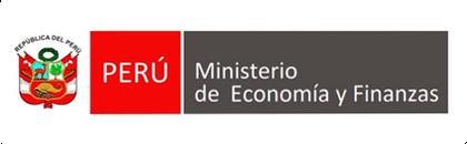 Le logo du Ministère de l'Economie et Finance du Pérou