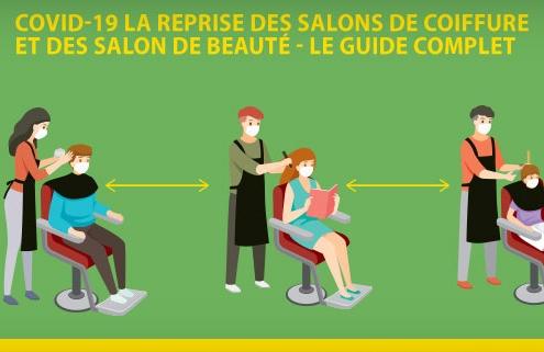COVID-19 la reprise des activités des salons de coiffure et des salons de beauté