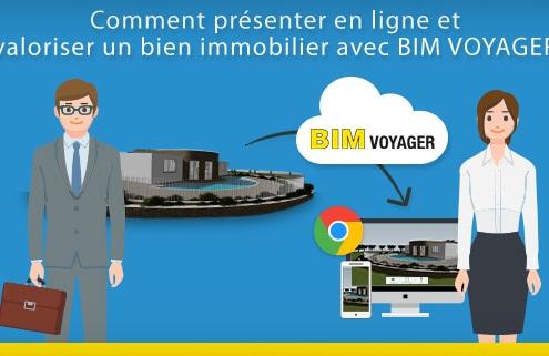 Comment presenter en ligne un bien immobilier avec BIM VOYAGER