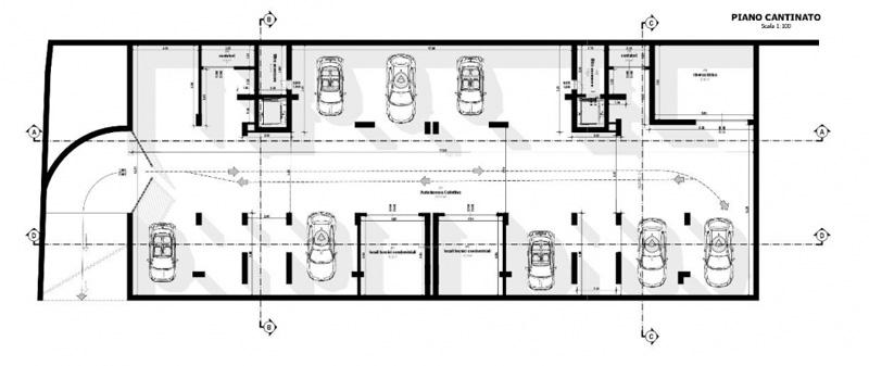 Vue en plan du sous-sol issue du logiciel Edificius