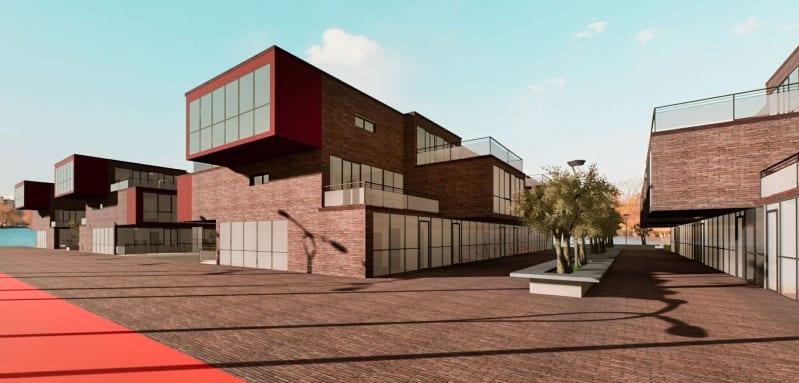 Rendu en temps réel d'une maison issu du logiciel Edificus 3D BIM pour l'architecture