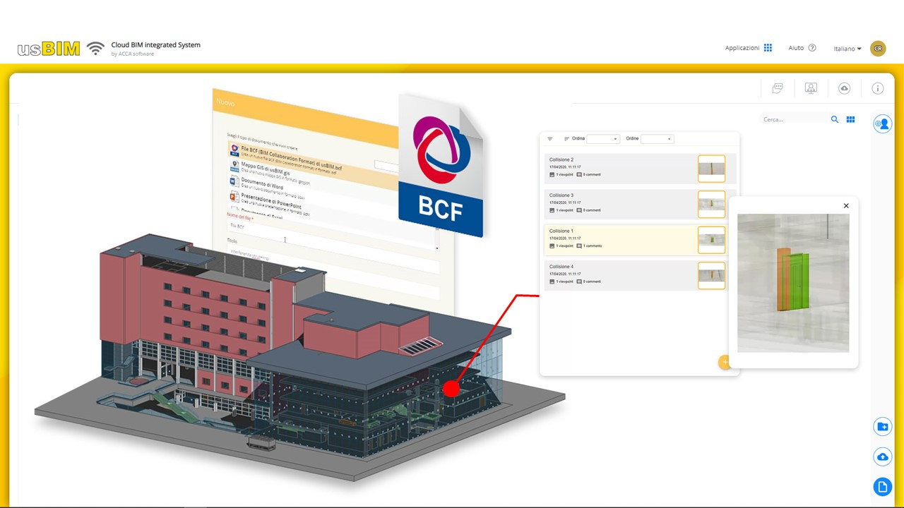 usBIM l'application pour gérer les fichiers au format BCF