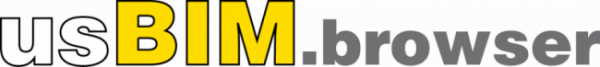 Logo de usBIM.browser l'application de base du système usBIM