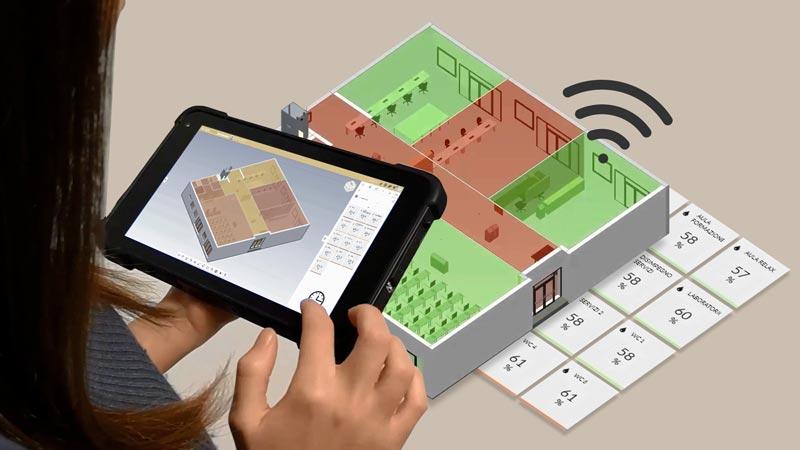 usBIM.IoT une application du système intégré usBIM, le système de gestion BIM