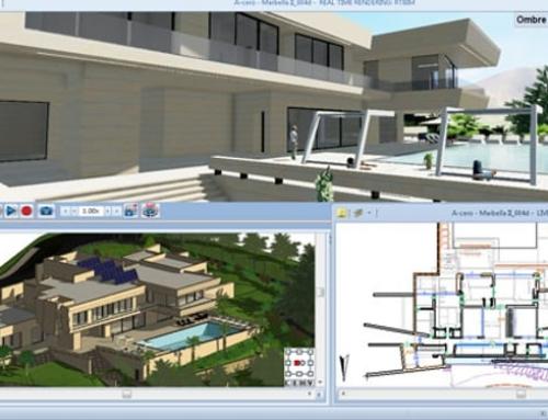 Definição dos ambientes e níveis em um software BIM