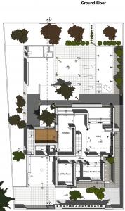 C-House Planta rés-do-chão Edificius BIM