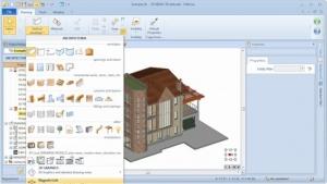 Seleção MagneticGrid - software BIM Edificius -