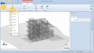 Seleção modelo grelha MagneticGrid - software BIM Edificius