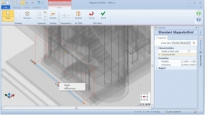 Editar MagneticGrid - software BIM Edificius