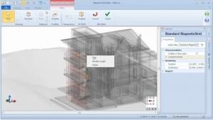 Adicionar novos elementos MagneticGrid - software BIM Edificius