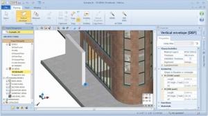 Desenhar elementos com MagneticGrid 02 - software BIM Edificius