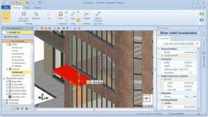 Copiar e colar objeto com MagneticGrid 01 - software BIM Edificius