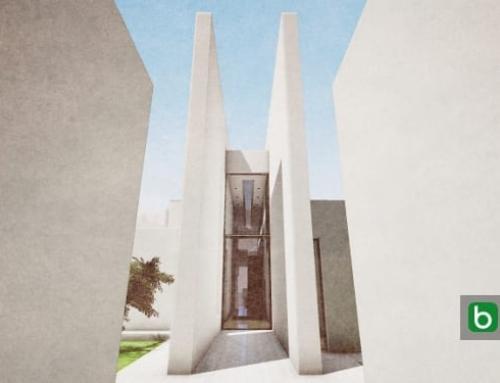 Desenho arquitetônico com um software BIM: Casa Camarines