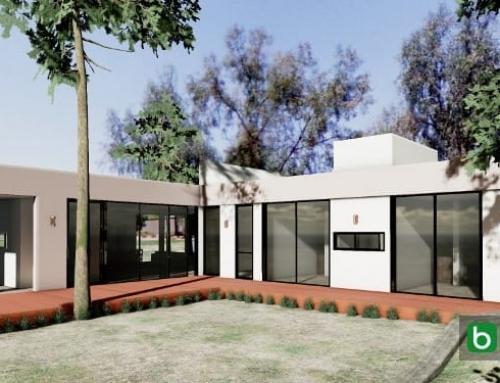 Casa Kaprys: o desenho reproduzido com um BIM, Edificius