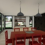 Casa Kaprys -Sala de estar - Edificius