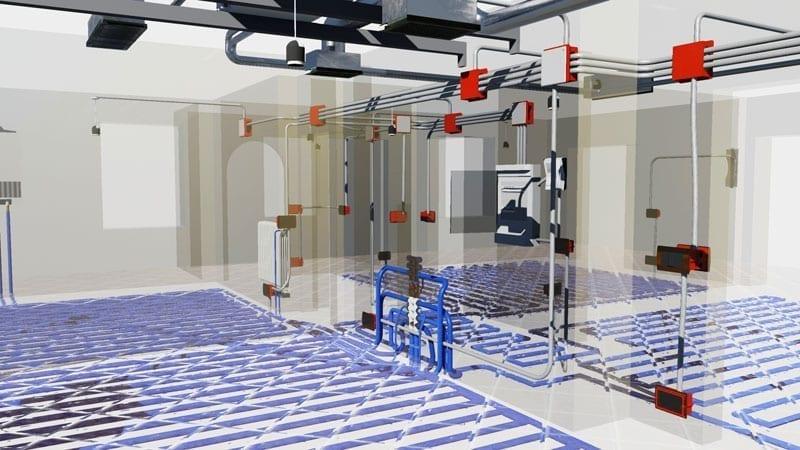 BIM e desenho de instalações - Ambiente de desenho