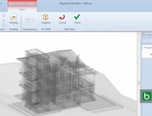 Desenhar e modelar objetos BIM com MagneticGrid