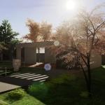 Render Exterior: residencial software BIM Edificius