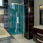 Render Interiores: banheiro software BIM Edificius
