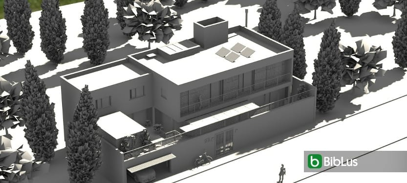 Realizar uma casa unifamiliar com um software BIM Edificius