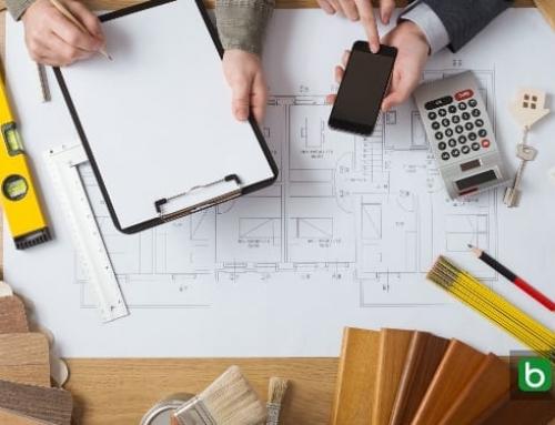 O orçamento obras do projeto com um software BIM