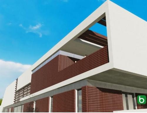 Casa Roncero modelada com um software BIM para arquitetura