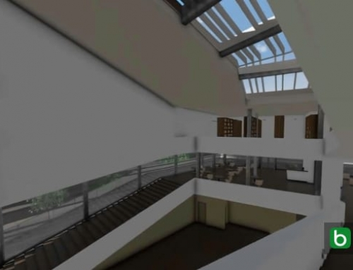 Realizar escada e peitoril com um software BIM: Biblioteca Pública Daegu Gosan